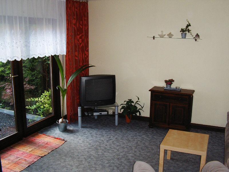 Jena Ferienwohnung Schumann Wohnzimmer